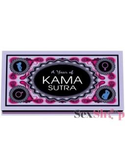 """juego erotico """"Un año de Kama Sutra"""""""