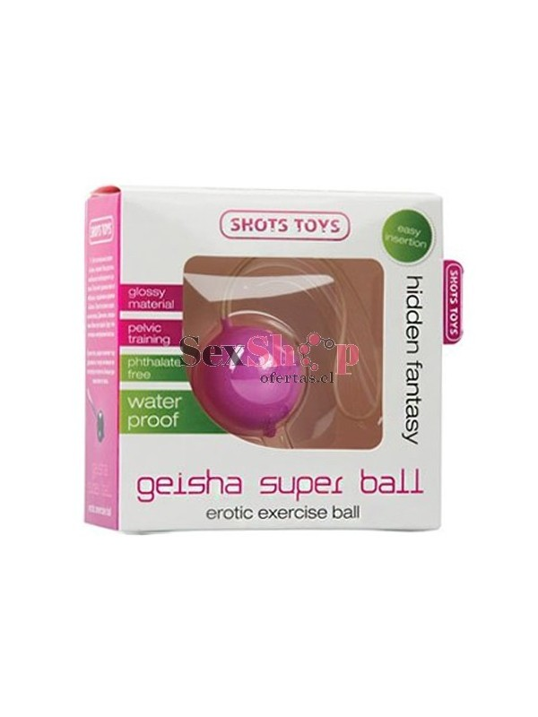 "bola china unica ""super ball"""