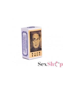 Retardante Masculino Pincelada China Vista Izquierda