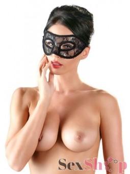 Mascara de Encaje Rígida Vista Adelante