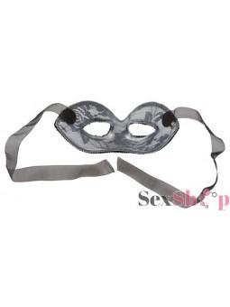 Mascara de Encaje Rígida Vista Atrás