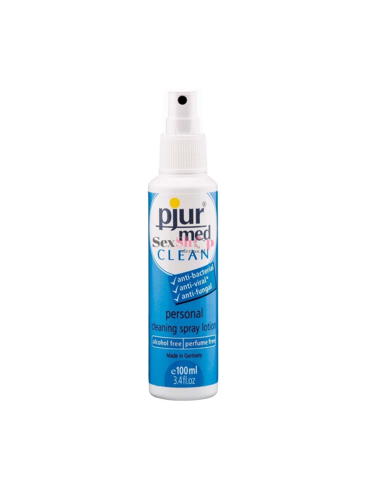 Loción de Limpieza pjur Spray 100 ml