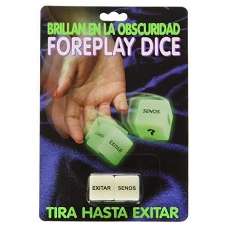 """Dados Eróticos """"Foreplay Dice"""""""