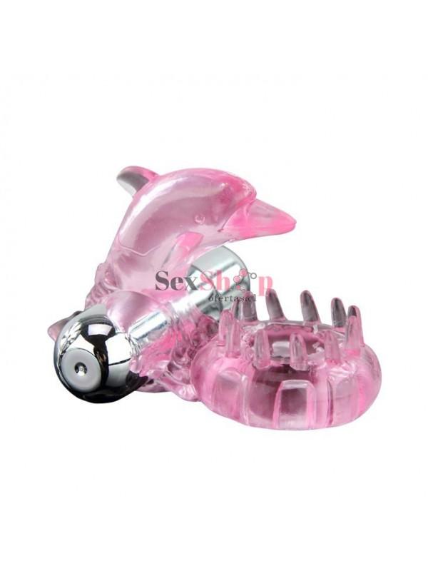 Anillo Vibrador Love Dolphin Ring