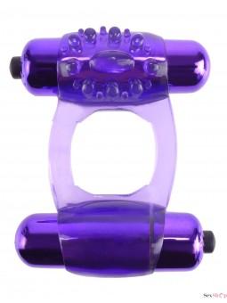 Anillo vibrador doble Fatasy C-Ringz presentacion
