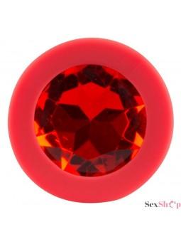Plug Anal silicona colorful joy diamante