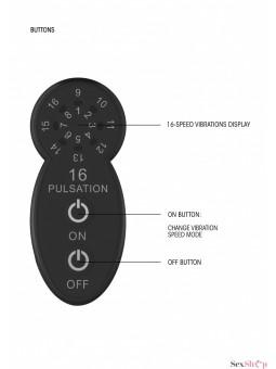 Estimulador masajeador de Silicona Wanda ShotsToys control