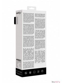 Estimulador masajeador de Silicona Wanda ShotsToys descripción caja