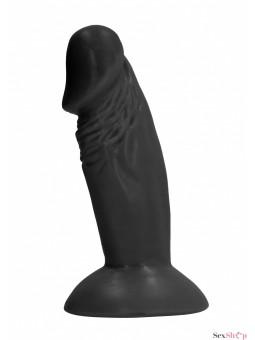 "Mini consolador 4"" Negro"